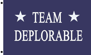 Team Deplorable Flag Donald Trump President Make America Great Again 3x5 Feet MAGA Banner Flag - Trump Mug