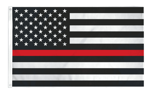 Thin Red Line USA American Flag for Firefighters Emergency Rescue EMT EMS Paramedics 3x5 Feet Banner Flag - Trump Mug