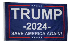Donald Trump 2024 Save America Again 3x5 Feet MAGA Banner Flag - Trump Mug