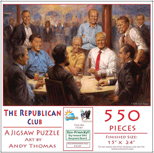 Donald Trump Republican Club Presidential Puzzle - Trump Mug