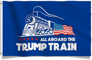 Trump Train 2020 President 3x5 Feet MAGA Banner Flag - Trump Mug