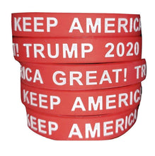 Load image into Gallery viewer, Keep America Great! Trump 2020 Donald Trump President Red Silicone Wrist Band Bracelet Wristband - Trump Mug