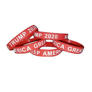 Keep America Great! Trump 2020 Donald Trump President Red Silicone Wrist Band Bracelet Wristband - Trump Mug
