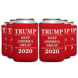 Trump 2020 Keep America Great Can Cooler Beverage Holders - Trump Mug