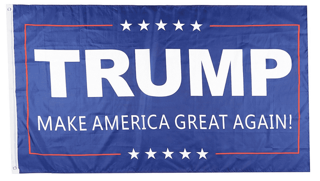 Donald Trump Make America Great Again President 3x5 Feet MAGA Banner Flag - Trump Mug