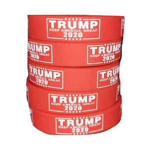 Trump Sign Keep America Great 2020 Donald Trump President Red Silicone Wrist Band Bracelet Wristband - Trump Mug