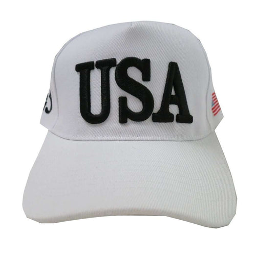 USA 45 MAGA Make America Great Again Donald Trump USA Flag Baseball Cap Hat WHITE - Trump Mug