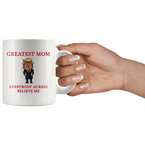 Greatest Mom Mother Trump Thumbs Up Mug - Trump Mug