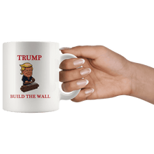 Load image into Gallery viewer, Trump Build The Wall MAGA Mug - Trump Mug