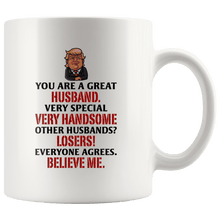 Load image into Gallery viewer, Great Husband Trump Mug - Trump Mug