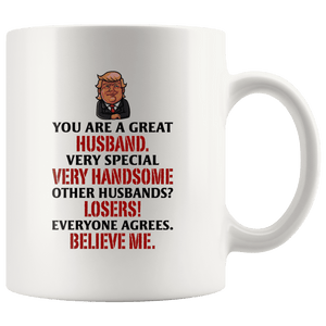 Great Husband Trump Mug - Trump Mug