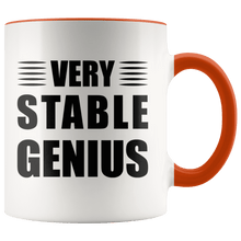 "Load image into Gallery viewer, """"Very"""" Stable Genius Trump MAGA Mug - Trump Mug"