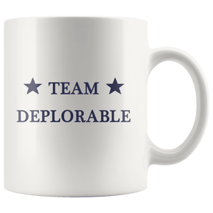 Team Deplorable Trump MAGA Mug - Trump Mug