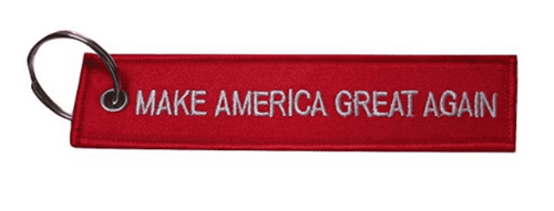 Make America Great Again MAGA Red Luggage Tag Keychain - Trump Mug