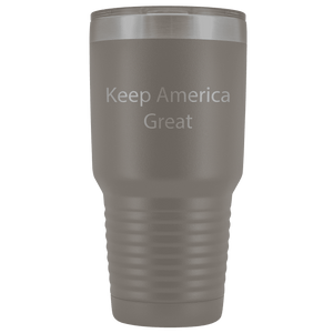 Keep America Great Trump Insulated Drink Tumbler Stainless Steel MAGA Travel Beverage Mug Bottle 30 oz - Trump Mug