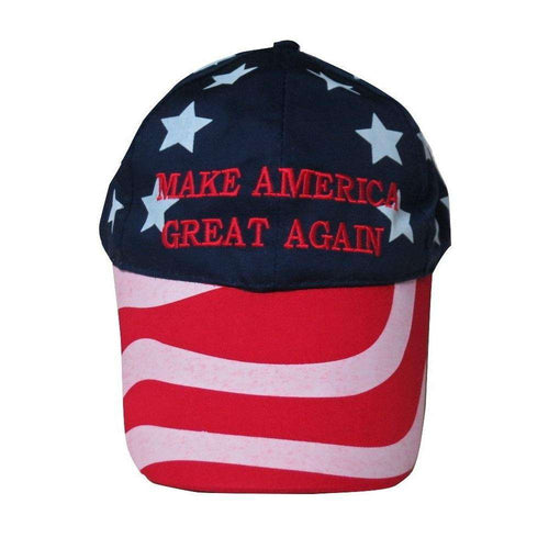 MAGA Make America Great Again Donald Trump USA Flag Baseball Cap Hat STARS & STRIPES - Trump Mug