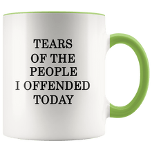 Load image into Gallery viewer, Tears Of The People I Offended Today MAGA Mug - Trump Mug