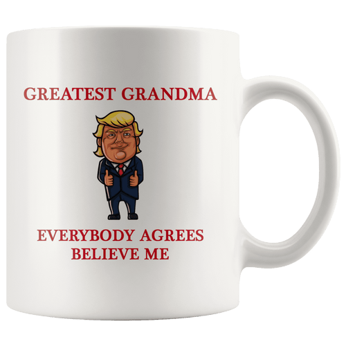 Greatest Grandma Grandmother Trump Thumbs Up Mug - Trump Mug