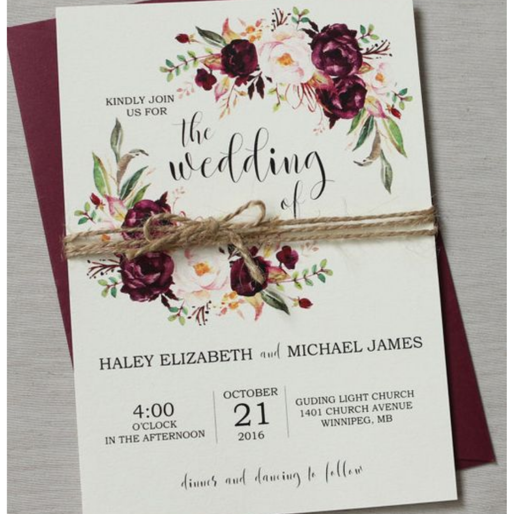 Invitación de Boda - MUNDOprints.com