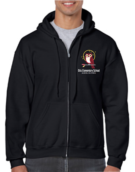 OTIS ELEMENTARY SCHOOL ADULT ZIP HOODIES 2018/2019