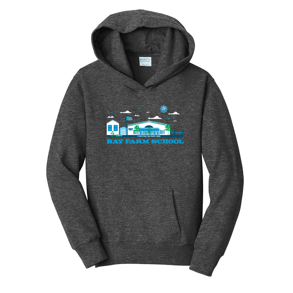 BAY FARM SCHOOL SCAPE ADULT PULLOVER HOODIES 2019/2020