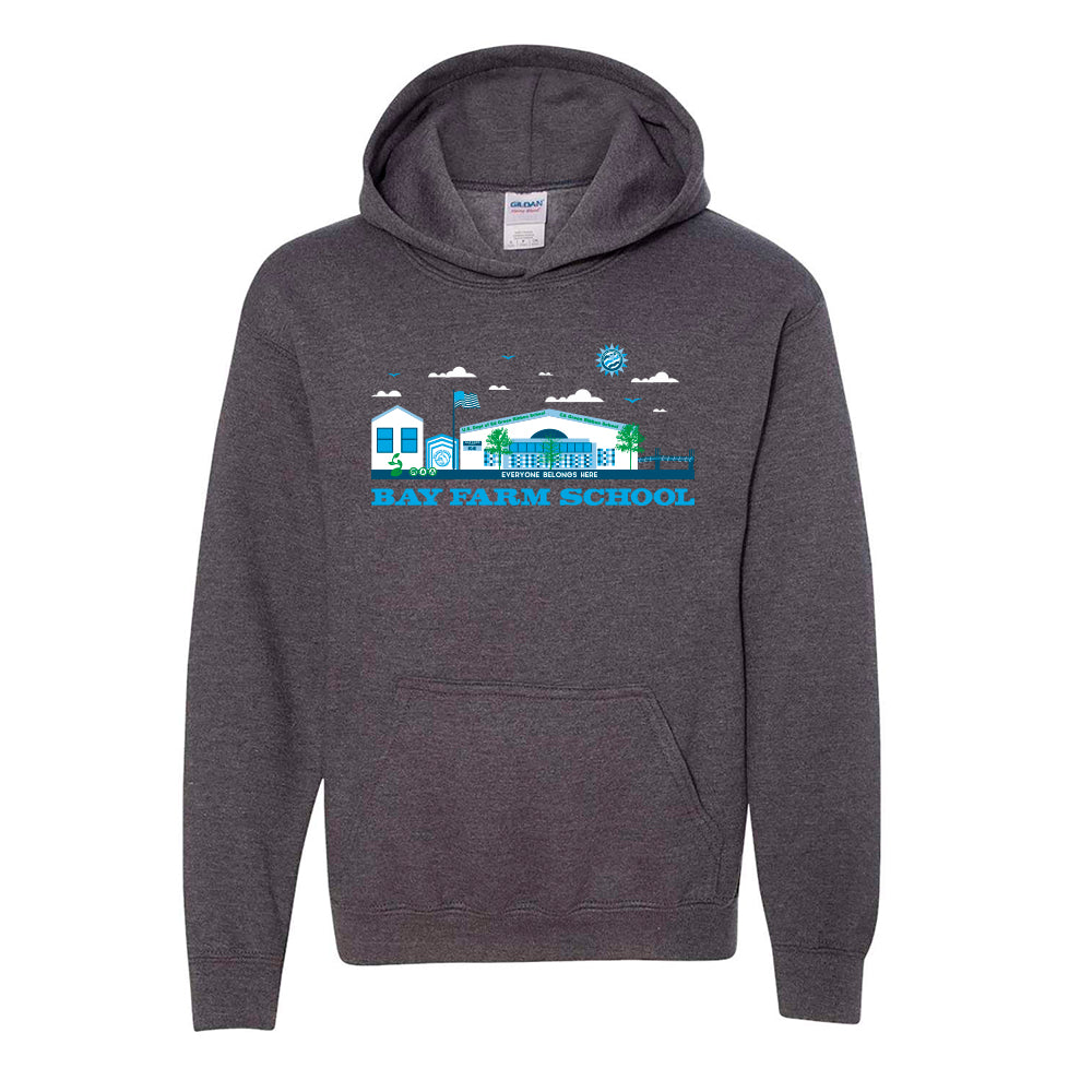 BAY FARM SCHOOL SCAPE YOUTH PULLOVER HOODIES 2018/2019