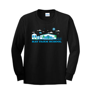 BAY FARM SCHOOL SCAPE YOUTH LONG SLEEVE T-SHIRTS 2018/2019