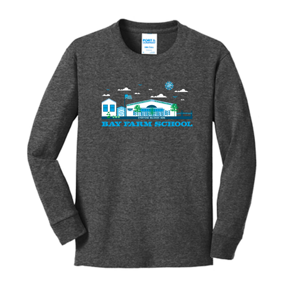 BAY FARM SCHOOL SCAPE YOUTH LONG SLEEVE T-SHIRTS 2019/2020