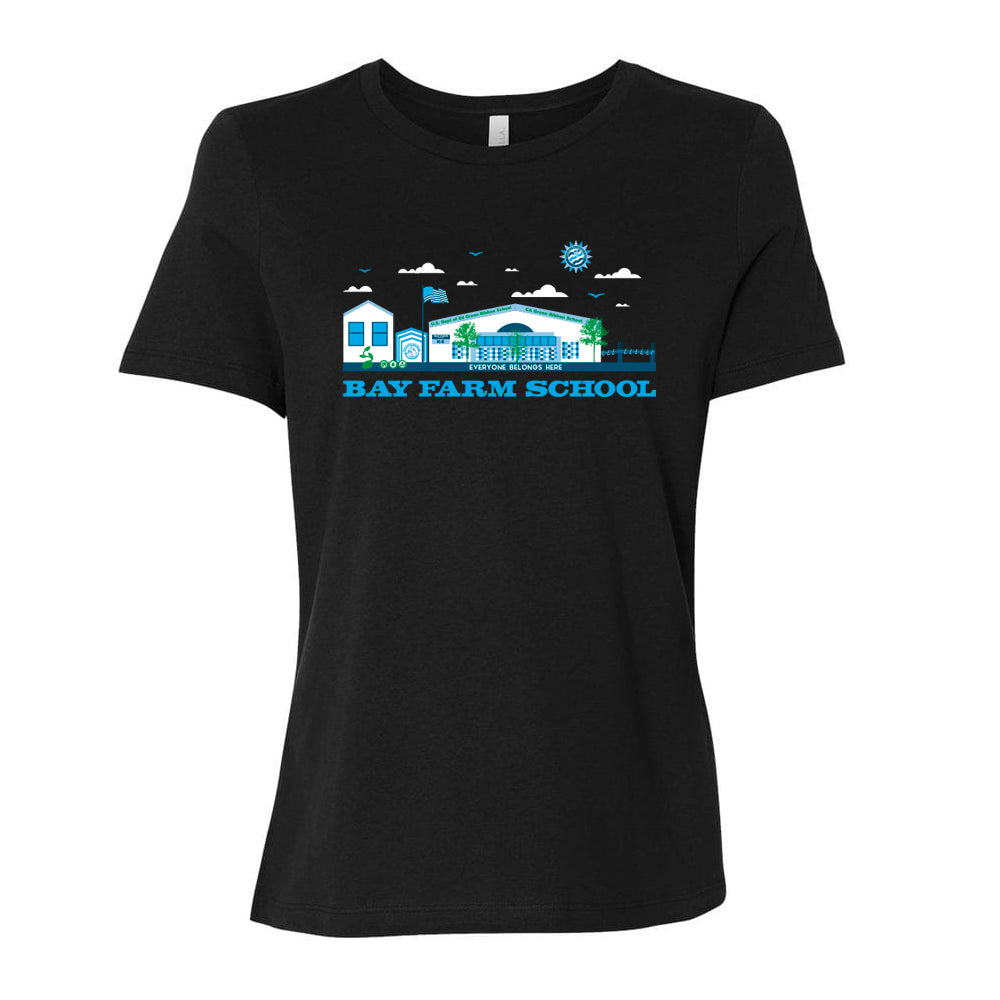 BAY FARM SCHOOL SCAPE WOMENS T-SHIRTS 2019/2020