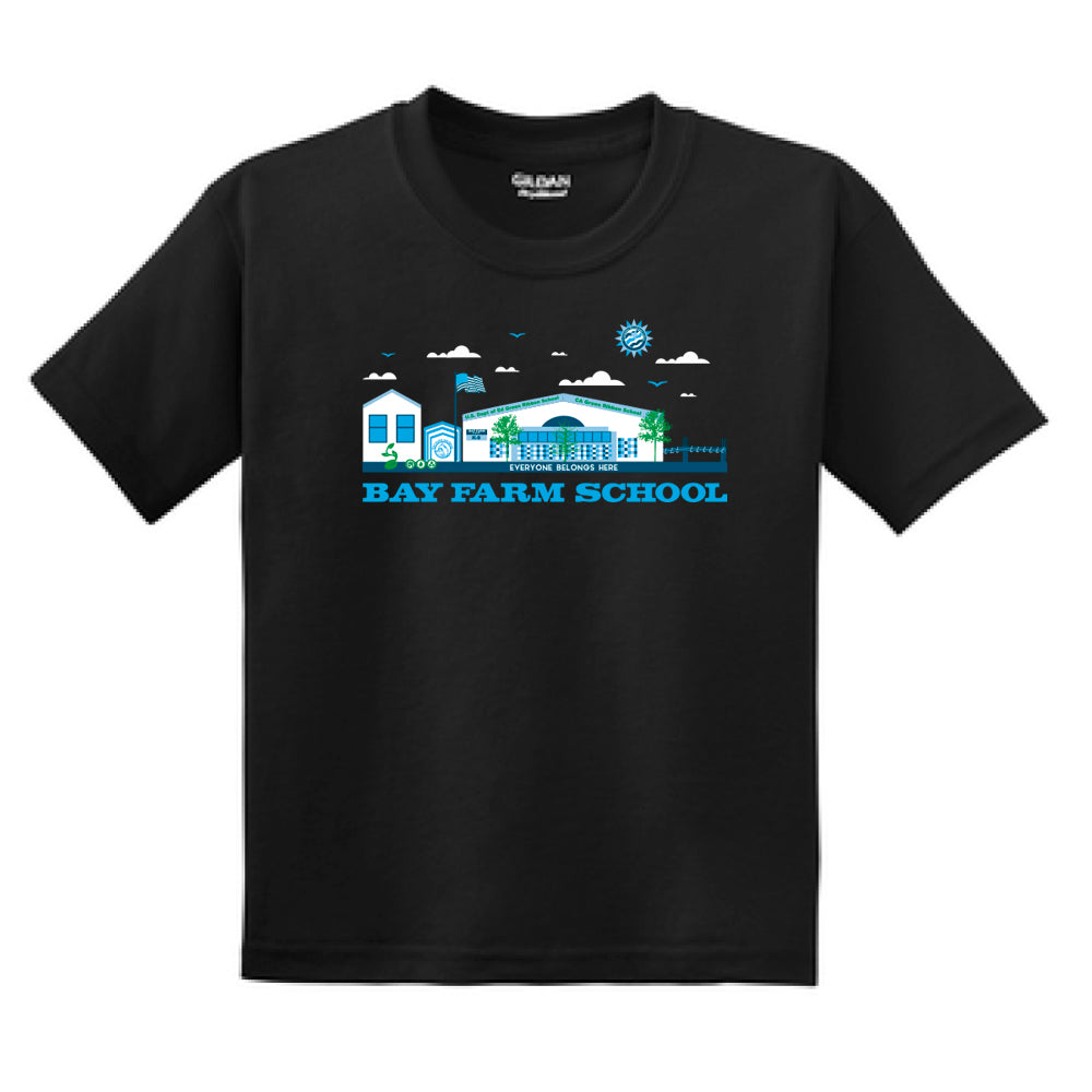 BAY FARM SCHOOL SCAPE YOUTH T-SHIRTS 2019/2020