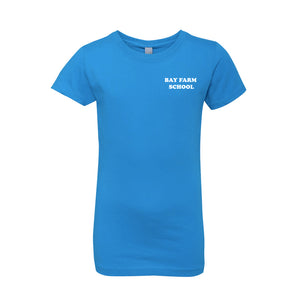 BAY FARM SCHOOL LOGO YOUTH GIRLS T-SHIRT 2018/2019