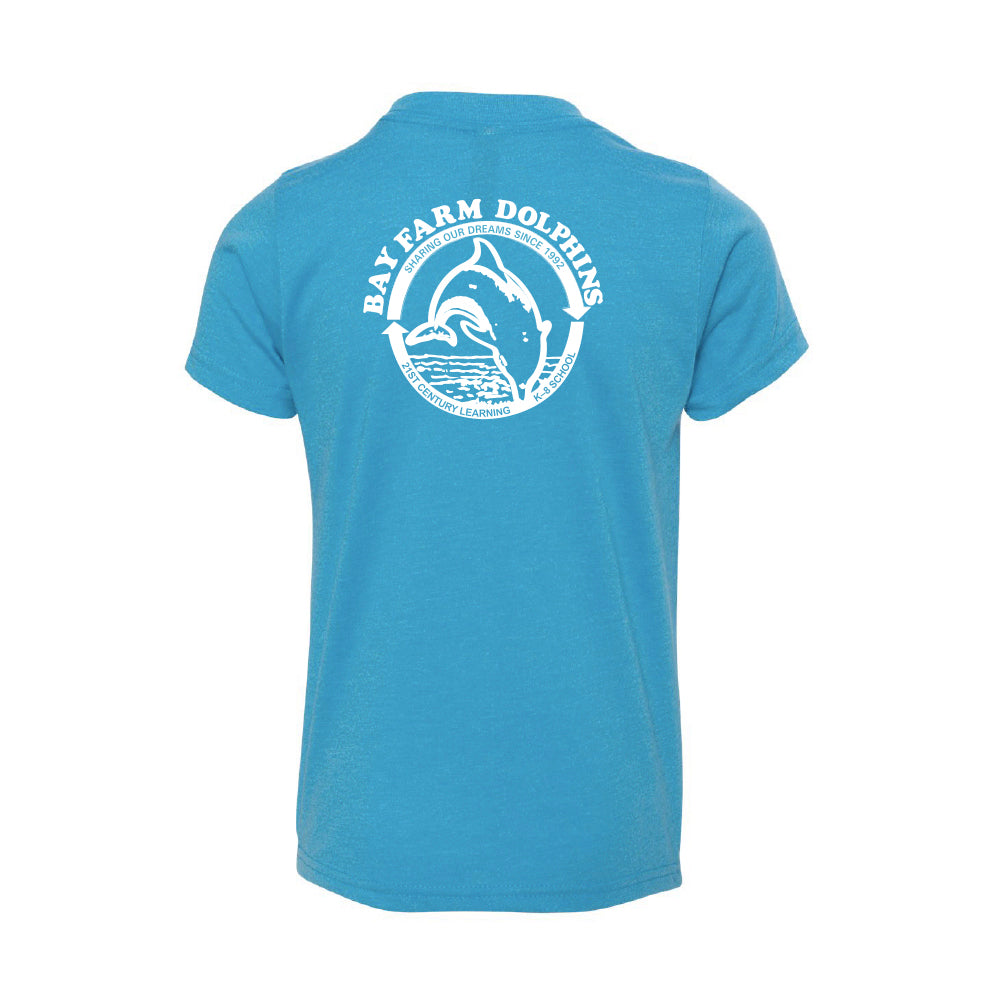BAY FARM SCHOOL LOGO YOUTH T-SHIRT 2019/2020