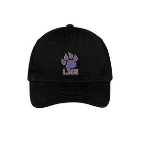 LINCOLN MIDDLE SCHOOL TWILL CAP 2018/2019