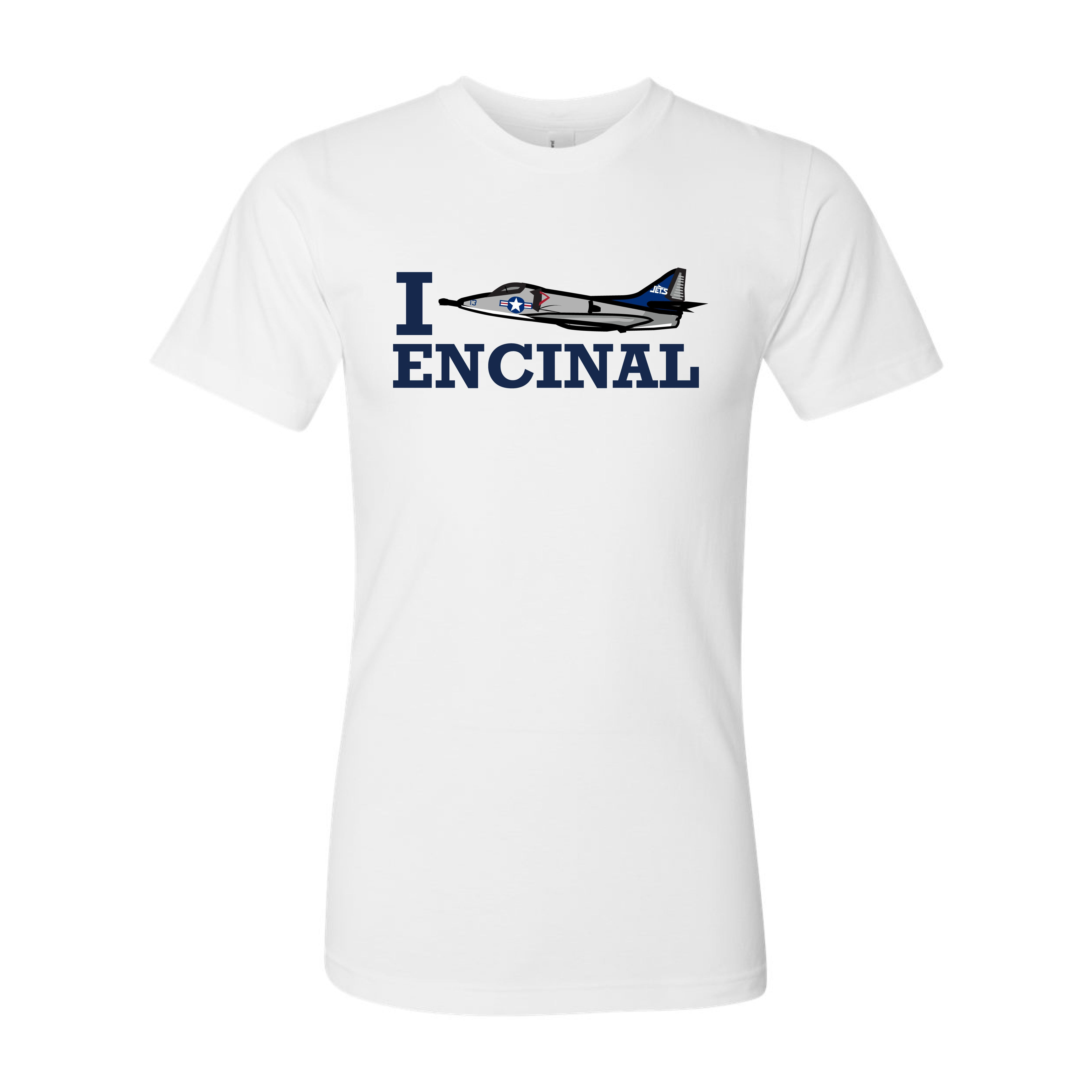 ENCINAL HIGH SCHOOL I JET ENCINAL ADULT T-SHIRTS