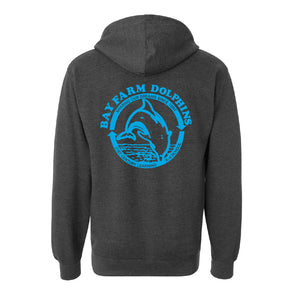 BAY FARM SCHOOL LOGO ADULT ZIP HOODIES 2019/2020