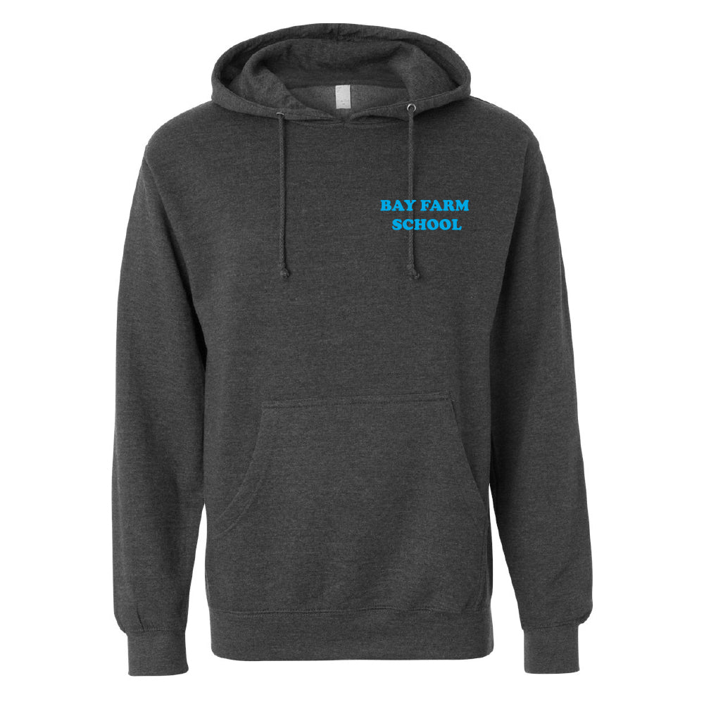 BAY FARM SCHOOL LOGO ADULT PULLOVER HOODIES 2019/2020