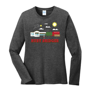 RUBY BRIDGES LADIES LONG SLEEVE SCHOOL SCAPE