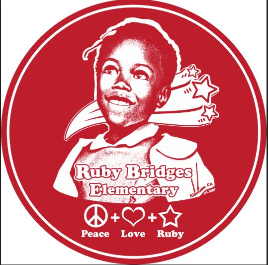 RUBY BRIDGES MAGNET