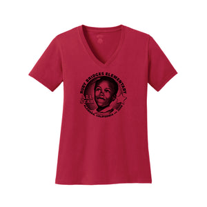 RUBY BRIDGES ALL STAR WOMEN'S V-NECK (RED OR GRAY)