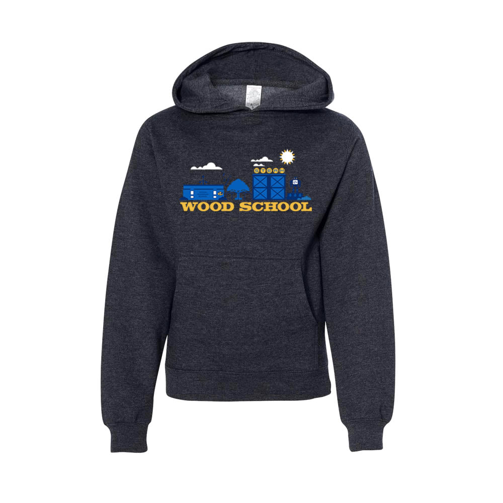 WOOD MIDDLE SCHOOL YOUTH PULLOVER HOODIE 2018/2019
