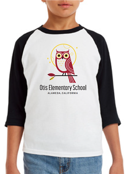 OTIS ELEMENTARY SCHOOL YOUTH RAGLAN 2018/2019