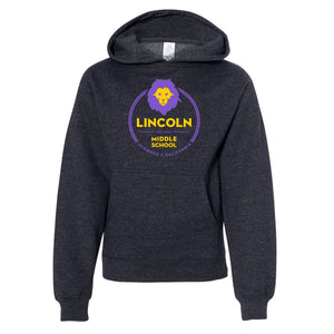 LINCOLN MIDDLE SCHOOL YOUTH PULLOVER HOODIE 2018/2019