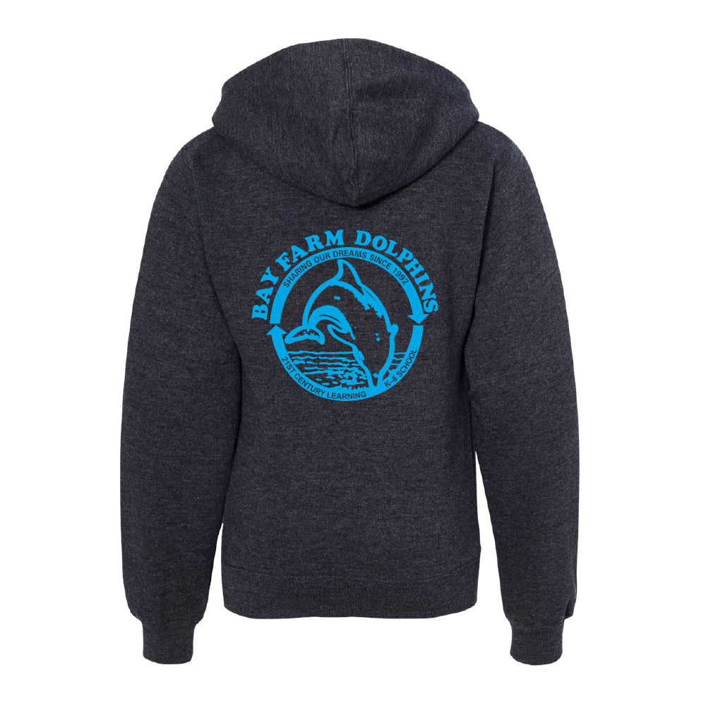 BAY FARM SCHOOL LOGO YOUTH PULLOVER HOODIE 2019/2020