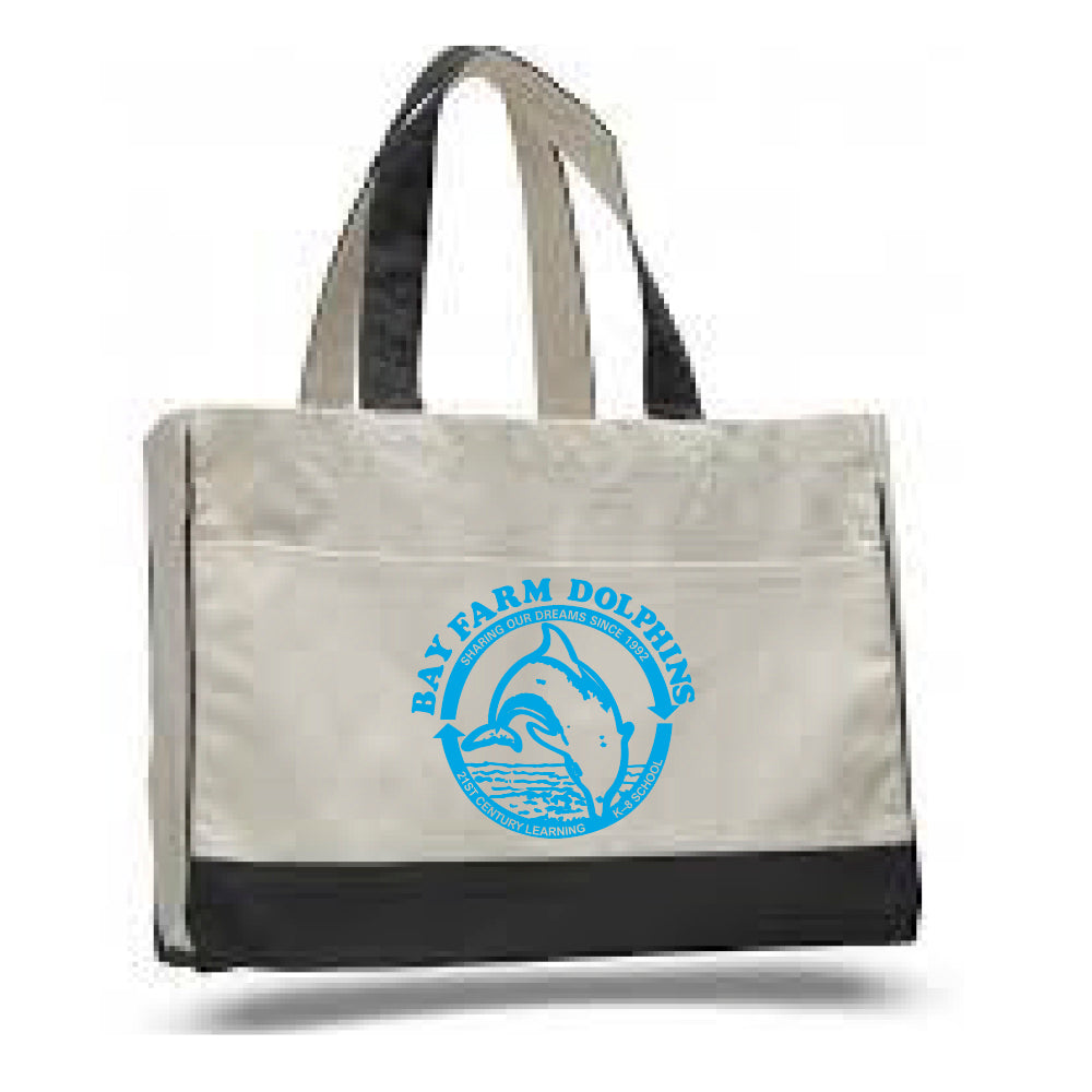 BAY FARM SCHOOL LOGO TOTE BAGS 2018/2019
