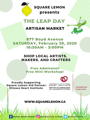 The Leap Day Market Poster