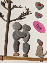 Load image into Gallery viewer, Couple Embracing - Pebble & Twig Love Collection