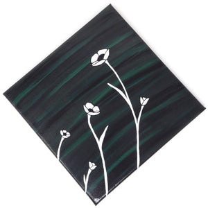 Poppies - Set of 4, 10x10 canvases