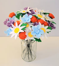 Load image into Gallery viewer, Felt Wildflower Bouquet