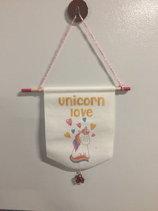Doorknob or Wall Hanging Banner