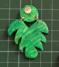 Load image into Gallery viewer, Leaf Polymer Clay Earrings